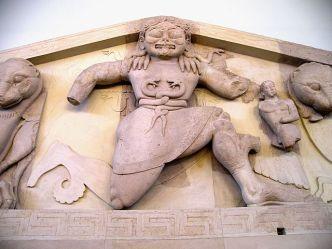 Medusa / Gorgon. 580BC